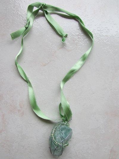 Nastro verde fluorite