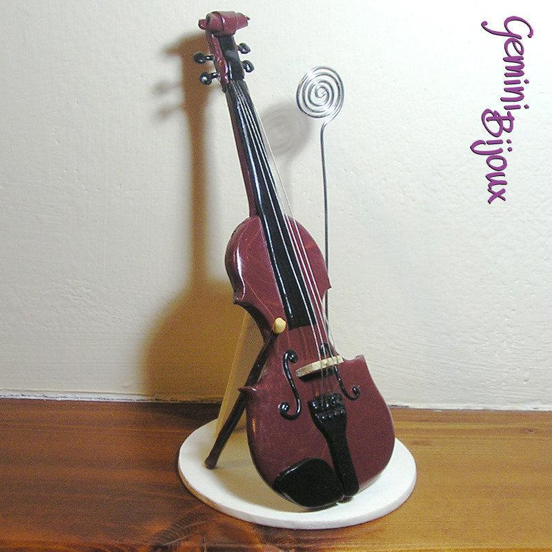 Violino in fimo