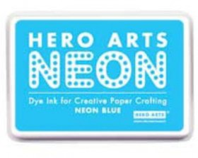 Tampone Dye Ink - Neon Blue