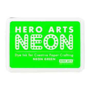 Tampone Dye Ink - Neon Green