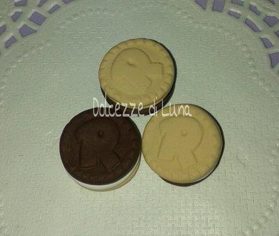 1 pezzo ciondolo biscotto RINGO in misura 2 cm orecchini,portachiavi o bracciale