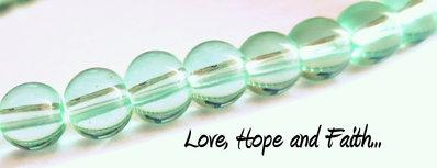 """LOTTO 10 perle in vetro color """"verde chiaro"""" (6 mm) (cod.11630)"""