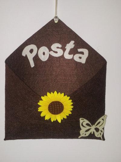 Porta Posta in feltro