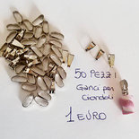 50 gancetti per ciondoli