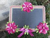 Lavagnetta decorativa rosa