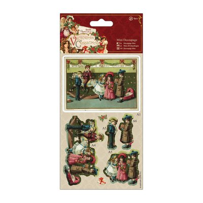 "Mini Decoupage - Victorian Christmas ""Scene"""