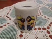 Salvadanaio ceramica minion