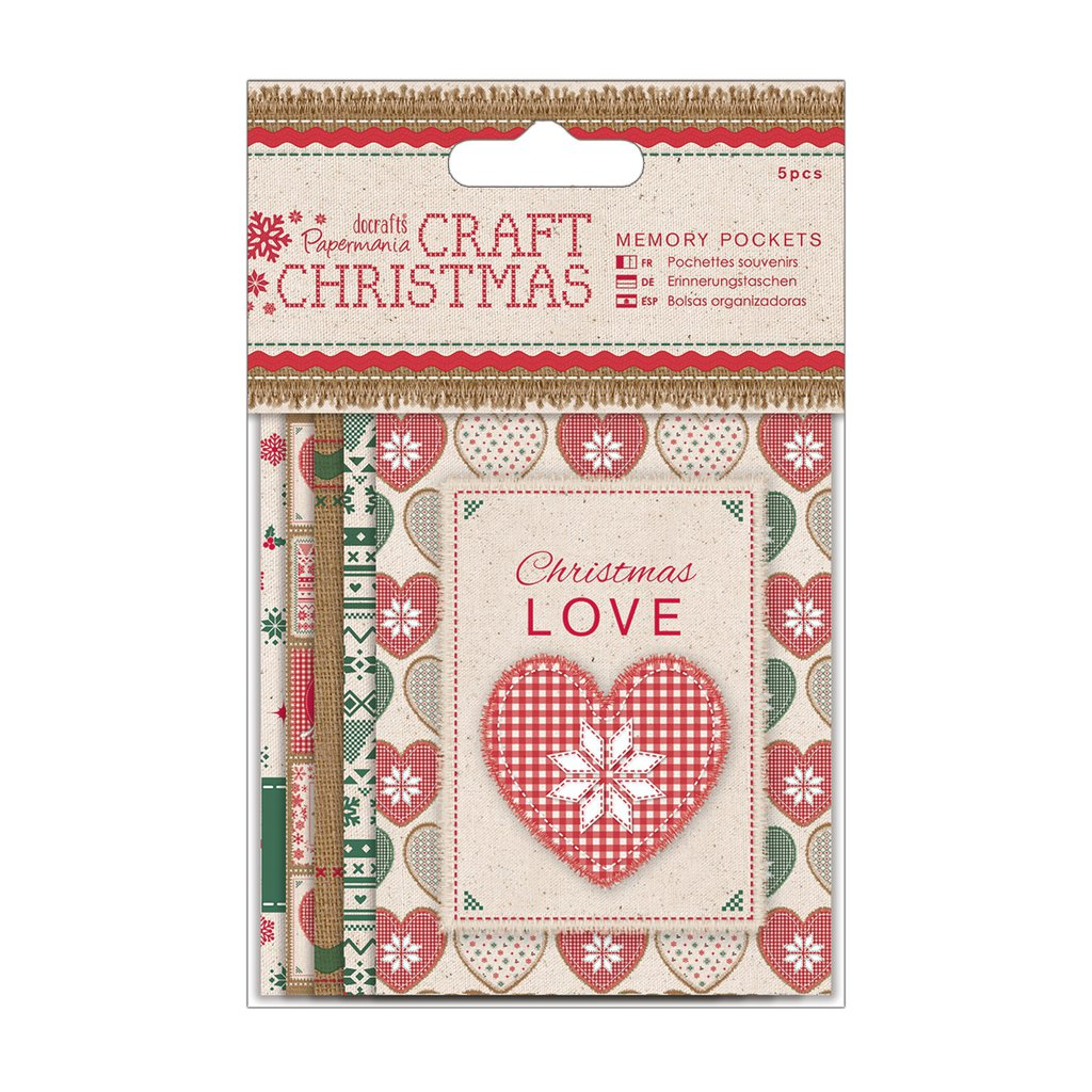 Memory Pockets - Craft Christmas