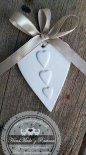 Gessetti cuore , cuoricino,segnaposto,9x6cm bomboniere, nascita,matrimonio, casa,battesimo