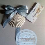 Gessetto profumato  Conchiglia,Stella e altre forme marine  7X8 cm bomboniere, nascita,matrimonio, casa,battesimo
