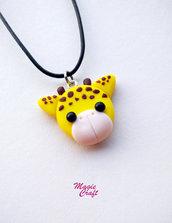 Collana Giraffa in Fimo
