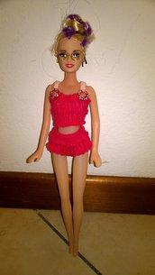 completo sportivo per barbie