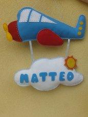 fiocco nascita aereo