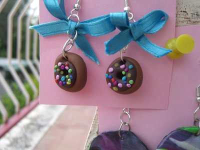 orecchini ciambelle