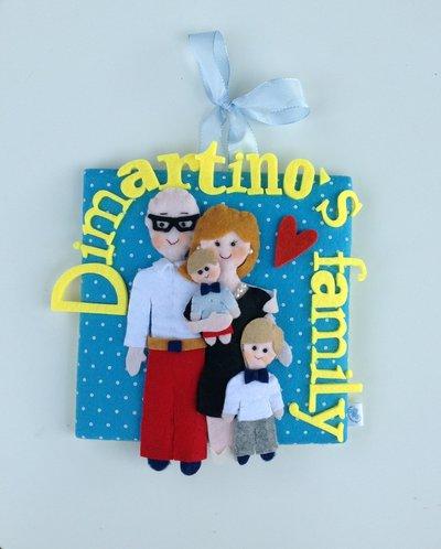 Quadretto Family personalizzato