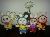 morbidi e allegri coniglietti
