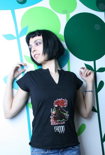 Tarot T-Shirt - Maglia Tarocchi - Black emo punk