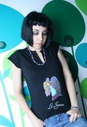 Tarot T-Shirt - Maglia Tarocchi - Black