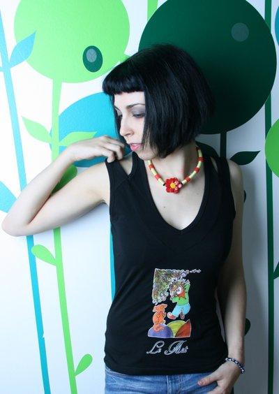 Tarot T-Shirt - Maglia Tarocchi - Black Red White