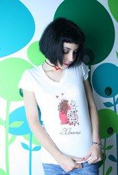 Tarot T-Shirt - Maglia Tarocchi - White