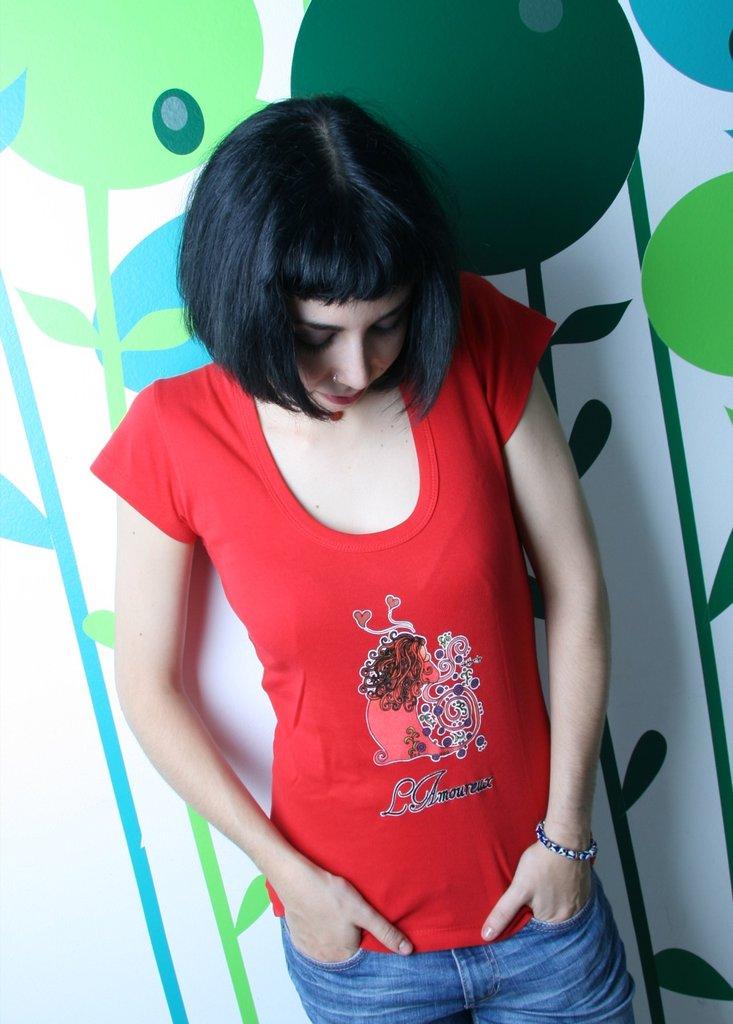 Tarot T-Shirt - Maglia Tarocchi - Red White