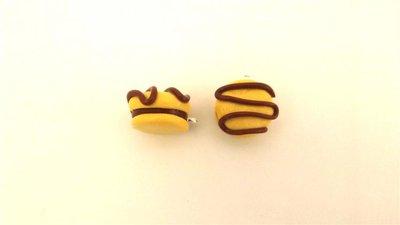 CIONDOLO CHARMS fimo - BISCOTTO YOYO farcito - kawaii adatto ad orecchini braccialetti anelli collane portachiavi