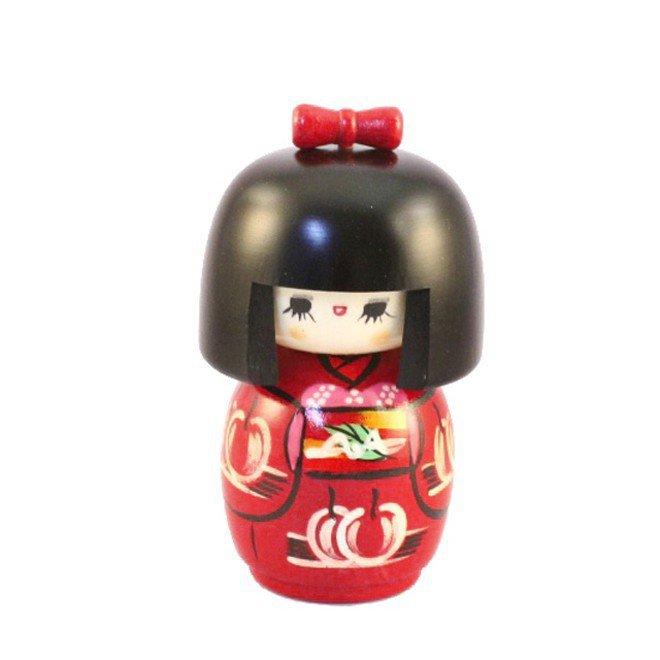 Bambola giapponese - Kokeshi Bambina