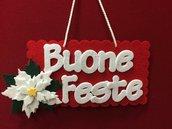 Targa Buone feste natale