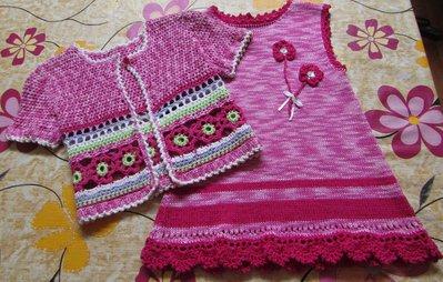 abito smanicato di cotone