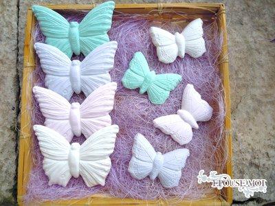 gessetti profumati farfalla  grandi o piccoli