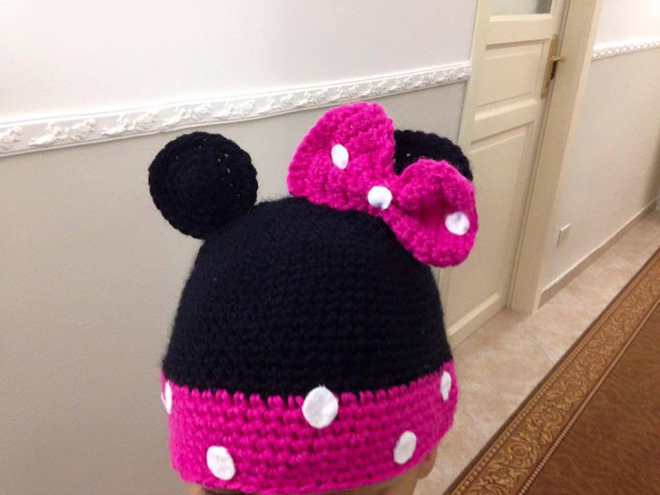 Cappellino minnie mouse