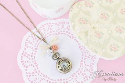 Collana orologio in stile vintage