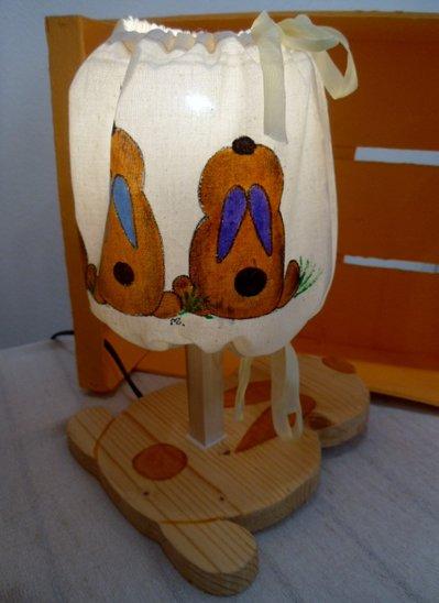 lampada cameretta bimbo