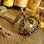 """collana """"Queen"""" corona con perla"""