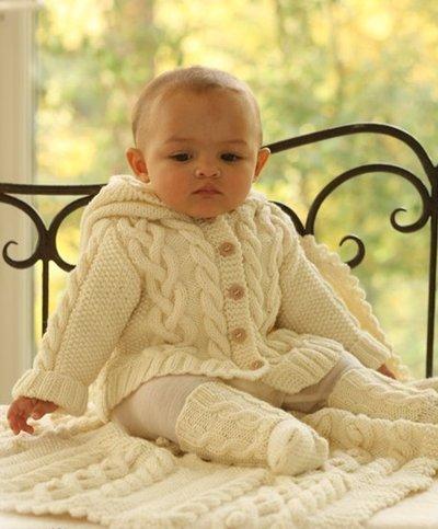 схемы вязания одежды для новорожденных спицами