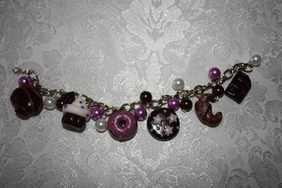 braccialetto dolci in fimo