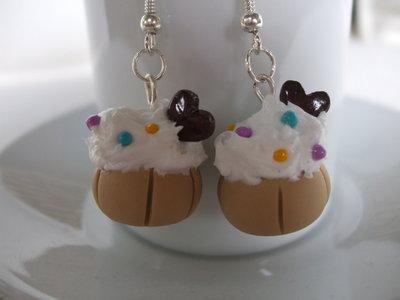 Orecchini Pasticcini Cupcake Dolci Fimo Cernit