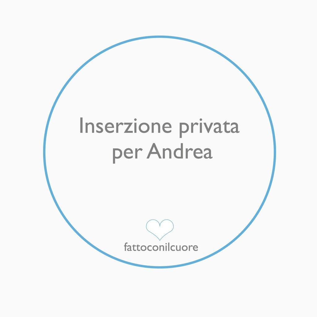 Inserzione privata per Andrea : bomboniere uccellino