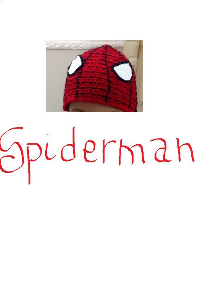 cappellino di Spiderman