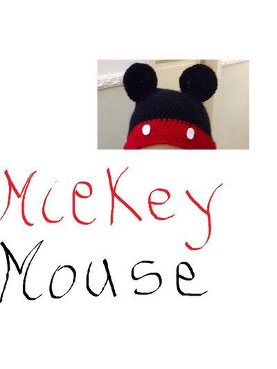 Cappellino di Mickey Mouse