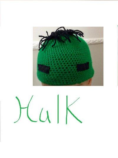 Cappellino di Hulk