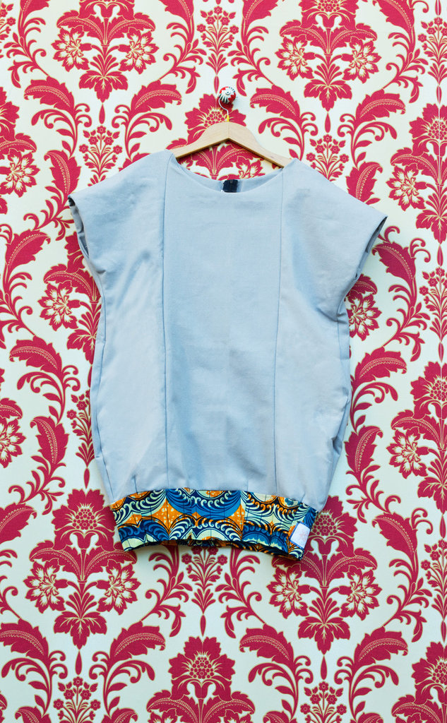 Vestito Azzurro Wax