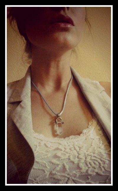 Croce in quarzo