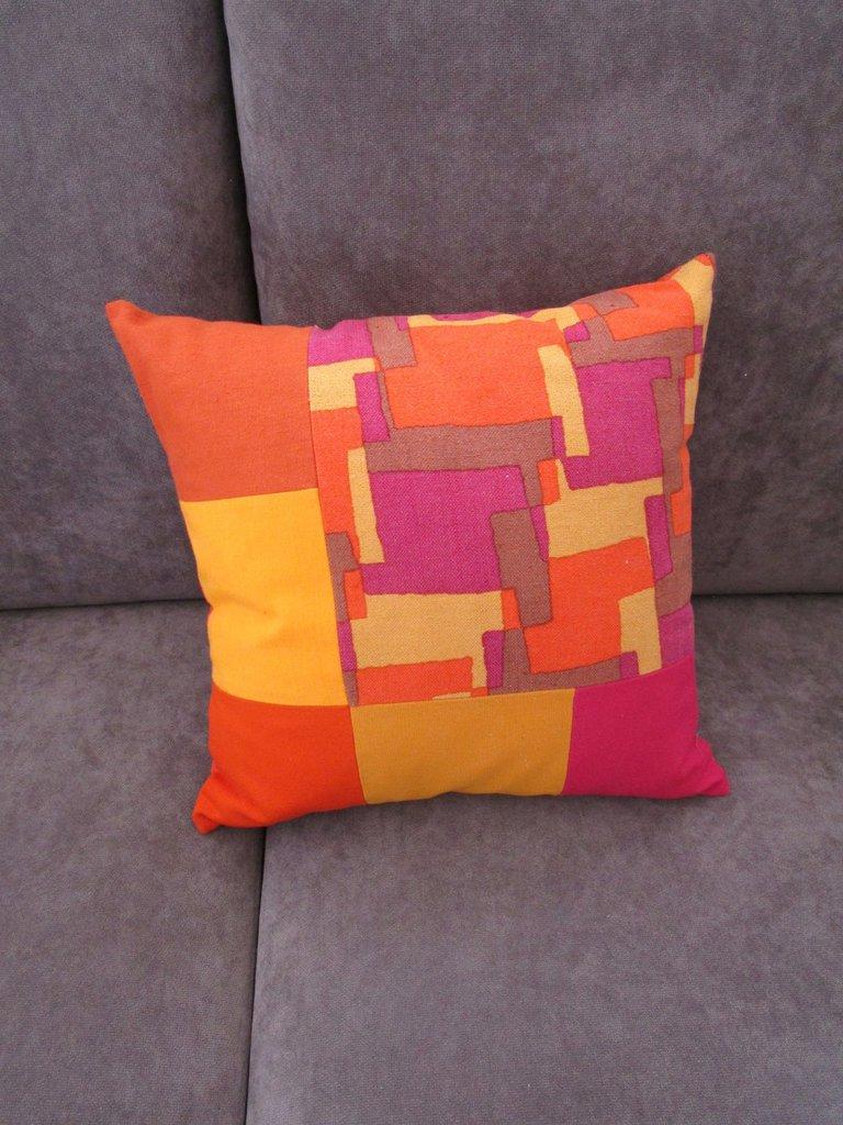 cuscino fantasia multicolore