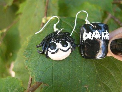 orecchini death note