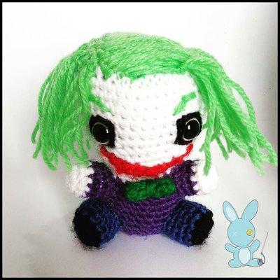 Il Joker amigurumi - Per la casa e per te - Bambole e ...