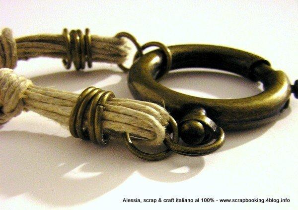 Collana in ottone Vintage