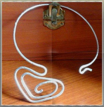 girocollo in alluminio cuore