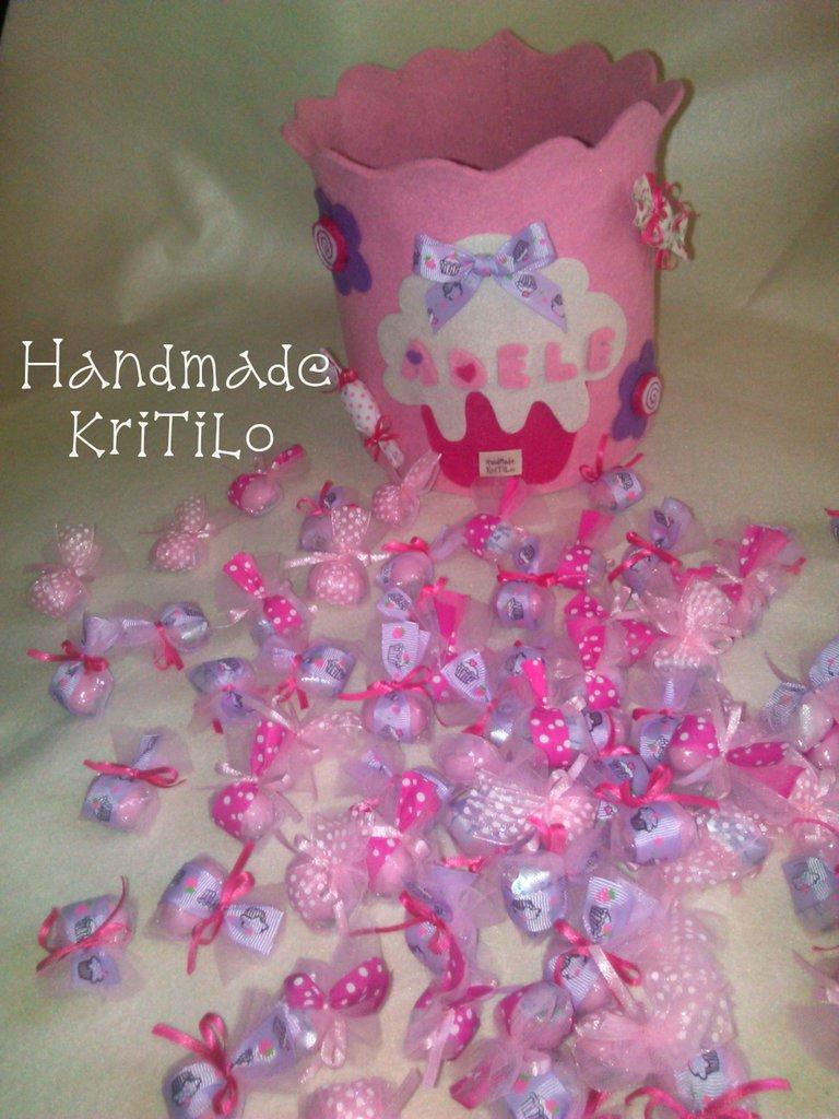 confetti prima nascita ''sweet cake'' Handmade KriTiLo