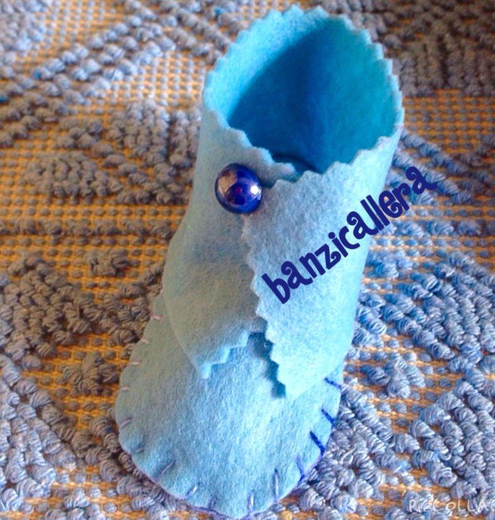 Scarpina porta confetti